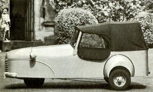 Reliant Regal háromkerekű autó