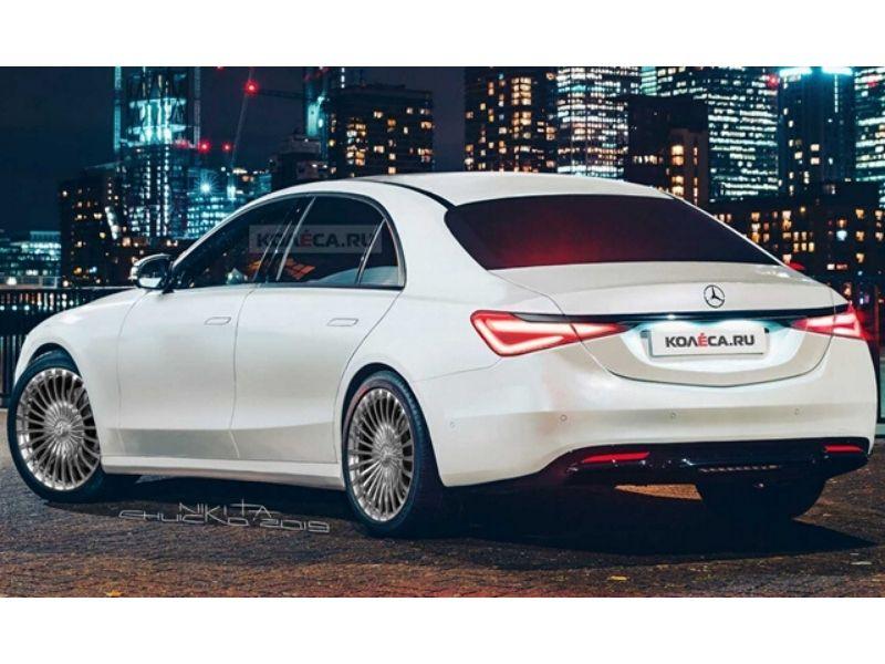 Az idén jön a teljesen új Mercedes S-osztály